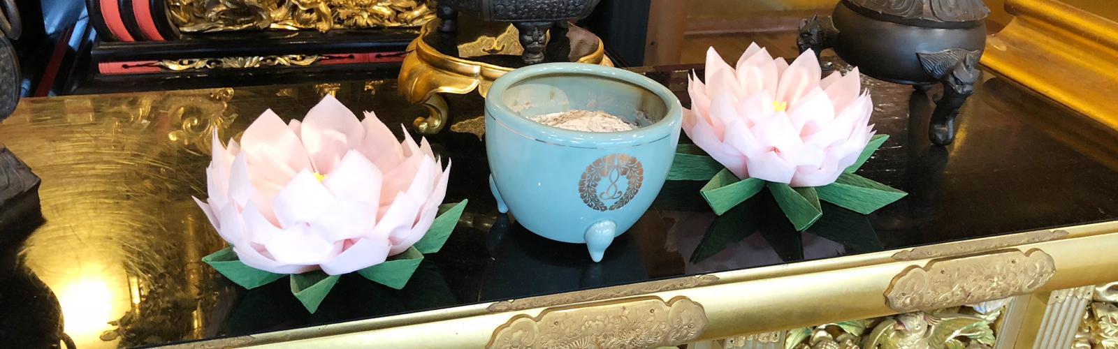蓮の会(手作りのお花づくり)
